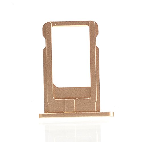 Smays SIM Card Tray Replacement for iPhone 6 4.7-inch (Gold) (Iphone 6 Tray compare prices)