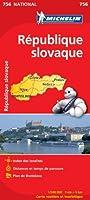 Carte NATIONAL Rpublique slovaque