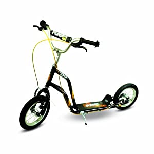 Funbee 12-inch Cross Scooter with Inflatable Wheel