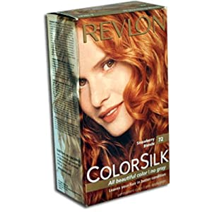 Hair Color, Strawberry Blonde (72/7R) : Chemical Hair Dyes : Beauty