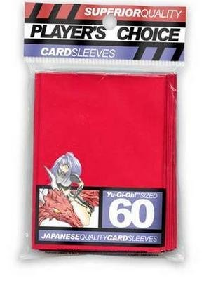 Player's Choice Yu-Gi-Oh! Red Sleeves (Pack of 60) - Designed for Smaller Gaming CCGs - Deck Protectors - Ideal for YuGiOh! Trading Card Games - Buy Player's Choice Yu-Gi-Oh! Red Sleeves (Pack of 60) - Designed for Smaller Gaming CCGs - Deck Protectors - Ideal for YuGiOh! Trading Card Games - Purchase Player's Choice Yu-Gi-Oh! Red Sleeves (Pack of 60) - Designed for Smaller Gaming CCGs - Deck Protectors - Ideal for YuGiOh! Trading Card Games (Player's Choice, Toys & Games,Categories,Games,Card Games,Card Games)