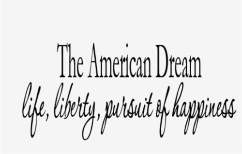 pursuit of american dream Bait and switch: the (futile) pursuit of the american dream barbara  ehrenreich metropolitan books ($24) by robert j nebel no one ever.