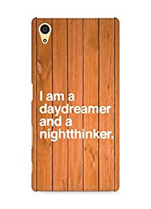 AMEZ daydreamer and night thinker Back Cover For Sony Xperia Z5