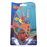 Disney Finding Nemo Toy Car Alarm Key Set with Sounds ~ Disney