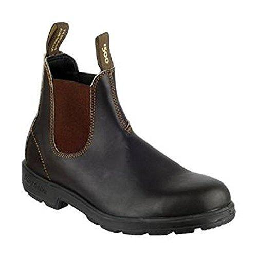 Uomo Blundstone 500 Classic marrone All Boot Dealer Leather (EU 41, Marrone)