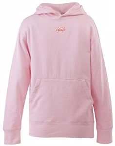Oklahoma State YOUTH Girls Signature Hooded Sweatshirt (Pink) - X-Small