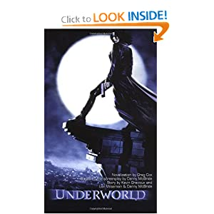 Underworld: Book 1 (Underworld (Pocket Star Books)) (Bk. 1) by Greg Cox