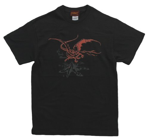 The Hobbit Lord Of The Rings Smaug Movie Adult T-Shirt