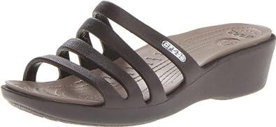Crocs Womens Rhonda Fashion Sandals 14706-23D-413 Brown (Espresso/Mushroom) 3 UK, 36 EU, 5 US, Regular