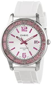 Casio Women's LTP1359-4AV  Casio Women's  Pink Bezel Watch LTP1359-4AV Watch