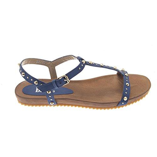 BPRIVATE, Sandali donna Blu Size: 40