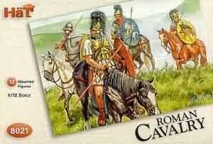 1:72 hat model figures roman cavalry 8021