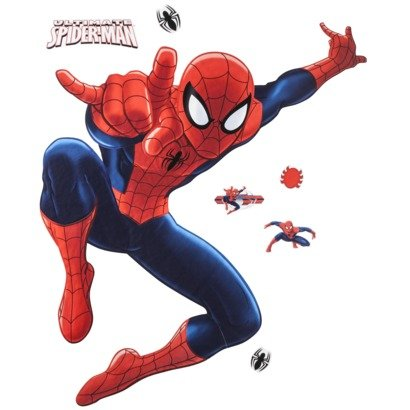 Marvel Ultimate Spiderman Reusable Wall Decal Set front-991911