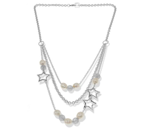 3 Strand Mulitple Bead Necklace and Star