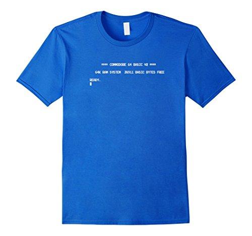Commodore C64 Boot Screen T-shirt for Men, Women, Kids.
