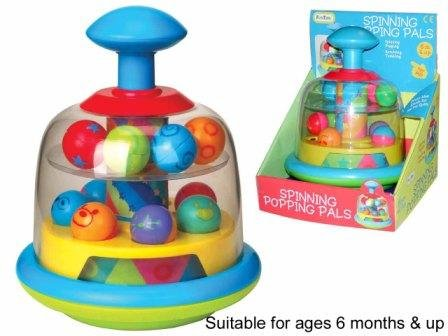 Castle Toys Fun Time Spinning Popping Pals Toy - 1