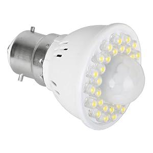 MiniSun BC B22 PIR Presence Motion Sensor Detector LED Light Bulb