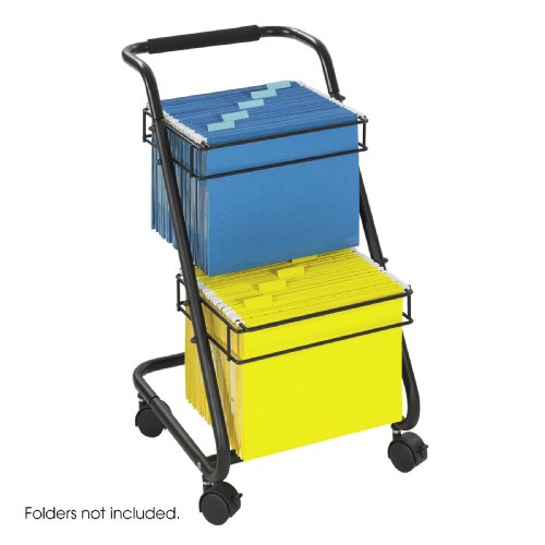 Jazztm Two-Tier File Cart By Safco front-861173