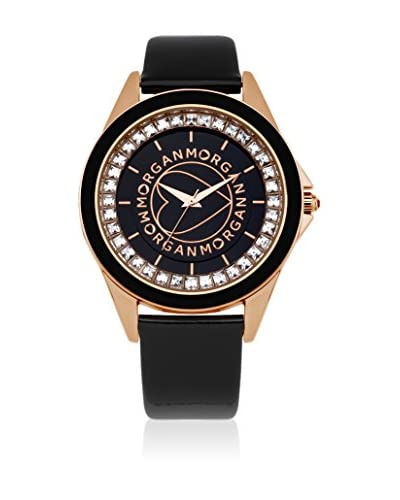 Morgan de Toi Reloj de cuarzo Woman M1035Rg Negro 40 mm