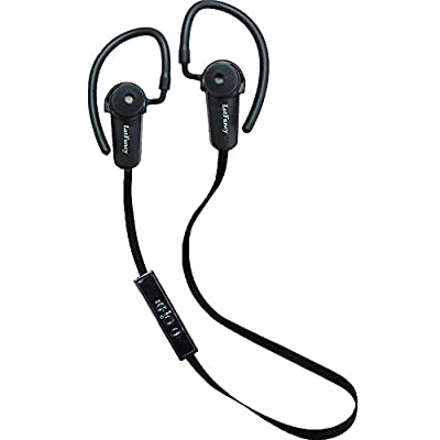 LotFancy® Bluetooth 4.0 headset Stereo Earbuds Headphones with In-Line Microphone Built in APT-X with A2DP IPHONE/ iPAD/iTouch/ Samsung, all smart cell phones Tablet Computers which have bluetooth devices