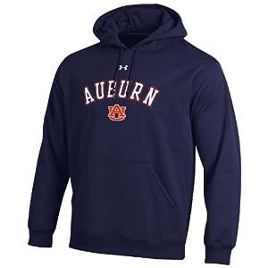 NCAA Auburn Tigers Mens Performance Fleece Hood by Under Armour