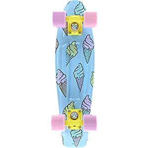 "PENNY Skateboard Complete ICE SCREAM GLOW 22"" Original by Penny"