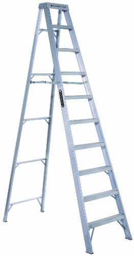Louisville Ladder AS1014 300-Pound Duty Rating Aluminum Stepladder, 14-Foot