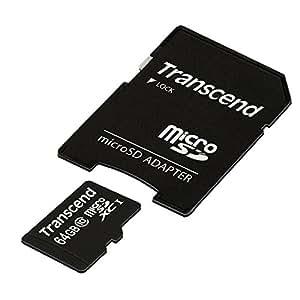 Transcend microSDXCカード 64GB Class10 (無期限保証) TS64GUSDXC10