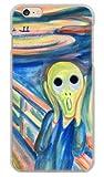 携帯電話taro docomo au SoftBank iPhone6 Plus ケース カバー (ムンク風の「叫び」) Apple iPhone6_Plus-YSZ-0071 の中古画像
