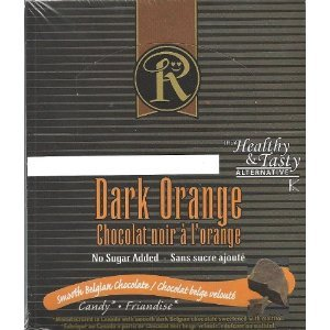 Ross Chocolates Sugar Free Dark Orange - Box of 12