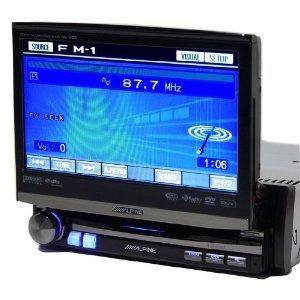 Alpine IVA-D106 1-DIN DVD/CD/MP3/WMA/DivX Receiver/AV Head Unit - Black