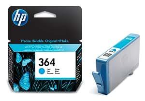 HP 364 Cartouche d'encre d'origine Cyan