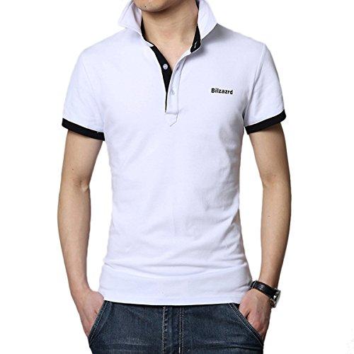 WSLCN -  Polo  - Basic - Maniche corte  - Uomo bianco Large