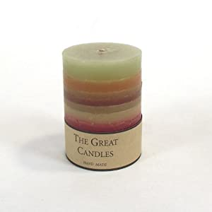 Multi-Scent Pillar Candles by Meena's Florist Supplies