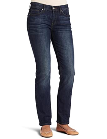 Levi's Women's 525 Petite Perfect Waist Straight Leg Jean, Sapphire, 8 Medium
