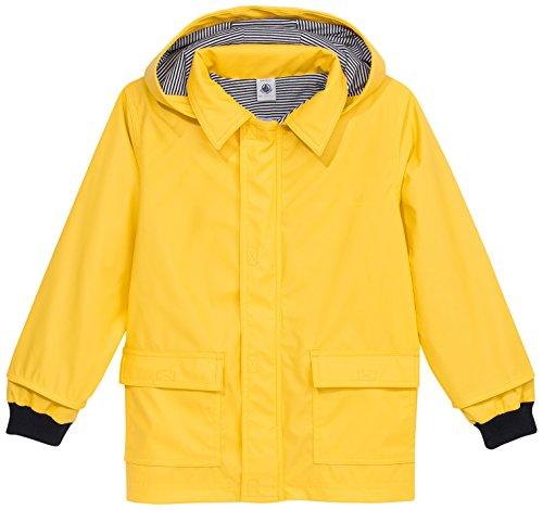 Petit Bateau edbsf pioggia cappotto CIRE, tinta unita
