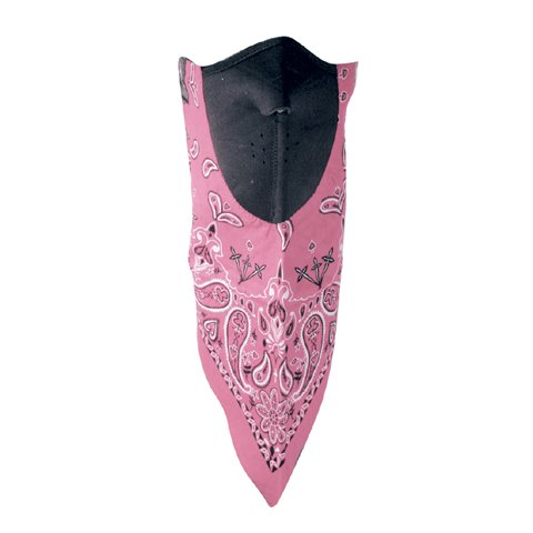 NEODANNA, 100% COTTON BANDANNAW/NEOPRENE, PINK PAISLEY, Manufacturer: ZANheadgear, Manufacturer Part Number: WNEO115-AD, Stock Photo - Actual parts may vary.  shenniu tractor parts the sn250 sn254 differential axle part number 25 39 103