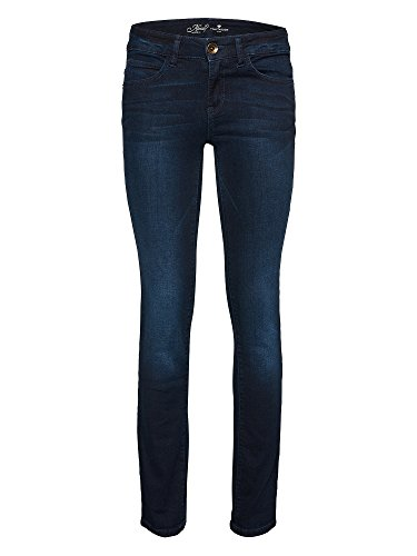 TOM TAILOR Donne Jeans Slim Fit blu scuro W34/L32