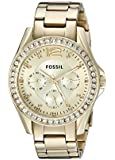 Fossil Ladies Quartz Rose Gold-tone Stainless Steel watch #ES3203