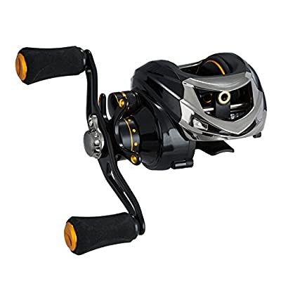 Piscifun Tuned Magnetic Brake System Low Profile Baitcaster Baitcasting Fishing Reel by Piscifun