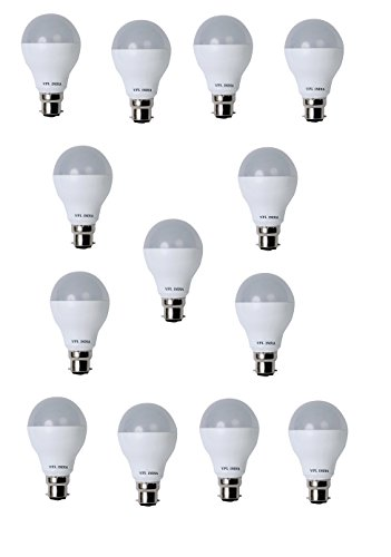 9 Watt LED Bulb (White, Pack of 13)