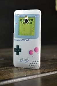 Perfect Case ® PREMIUM Hard Case Retro Game Boy Designe für HTC ONE Mini GameBoy