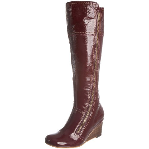 Fly London Women's Let Ii Purple Knee High Boot P141356012 8 UK