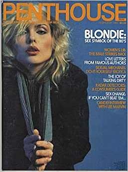 PENTHOUSE FEBRUARY 1980 BLONDIE DEBBIE HARRY LEE MARVIN INTERVIEW AND