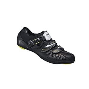 Shimano 2014 Men's Road Cycling Shoes - SH-RT82 (Black - 48)