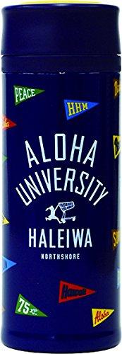 HALEIWA (ハレイワ) マグ ボトル 真空断熱 スクリュー式 0.5L フラッグ ブルー HGBMB500FB