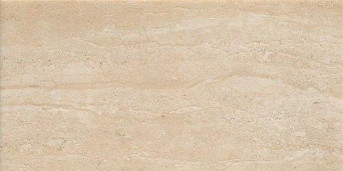 Samson 1036718 Travertini Matte Floor and Wall Tile, 12X24-Inch, Cream,  7-Pack