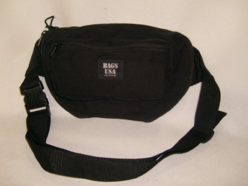 LAW Enforcement,concealed Fanny Pack with Holster&magazine Holder,made in U.s.a. by BAGS USA