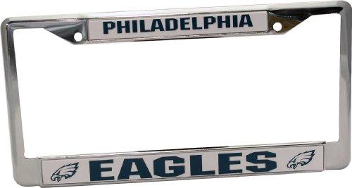 Philadelphia Eagles Chrome Frame (Eagle License Plate Frame compare prices)