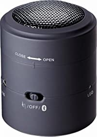 KING JIM Bluetooth振動式スピーカー BTSP10クロ